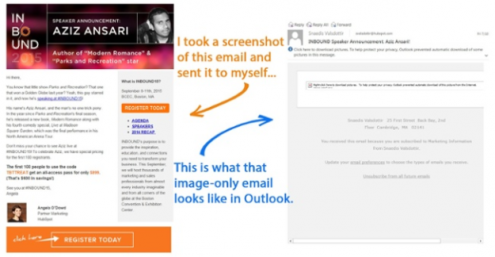 image not enabled default email marketing mistakes