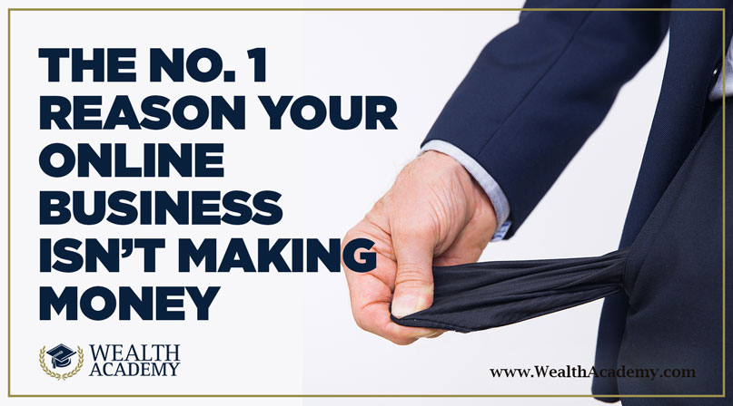 The No  1 Reason Why You're Not Making Money | Shaqir Hussyin's