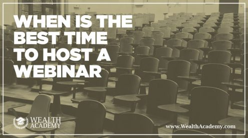 gotowebinar webinar time webinar hosting best webinar tittles webinar best practices best day of the week
