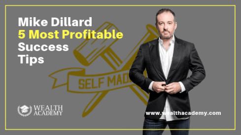 mike dillard, shaqir hussyin, wealth academy, wealth academy global, success tips