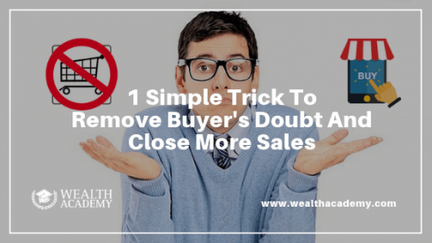 remove buyers doubt