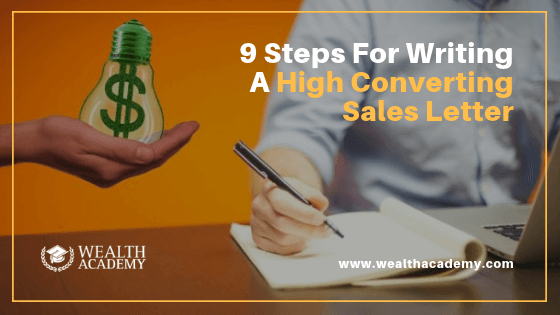 writing high converting sales letter