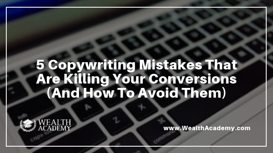 copywriting mistakes, advertising copywriting, how to avoid copywriting mistakes, common copywriting mistakes, effective copywriting, direct response copywriting
