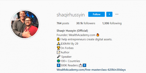Best Instagram Growth Hacks 2018 | Shaqir Hussyin's Official