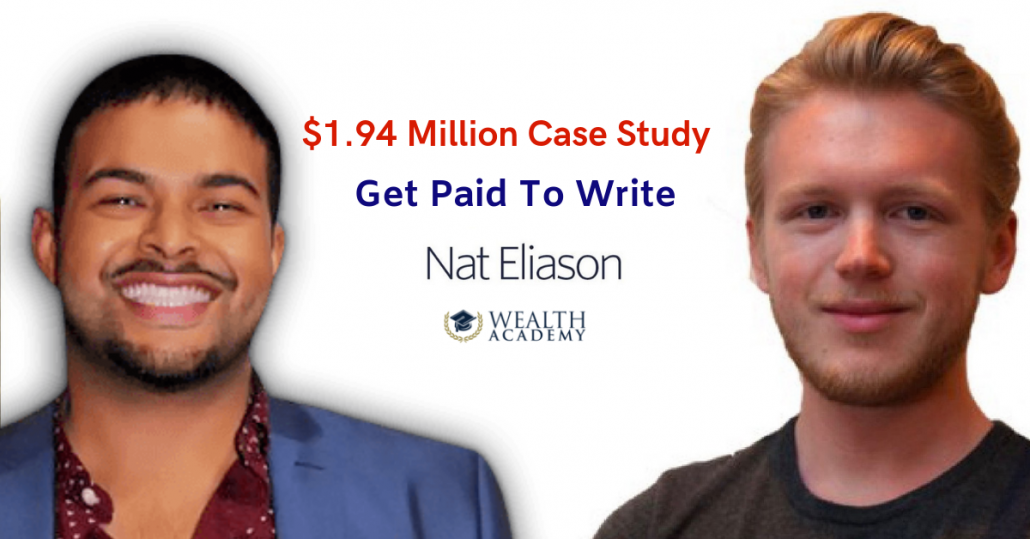 Get Paid To Write: $1 94 MM Per Year [Case-Study] | Shaqir