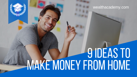 9 Ideas To Make Money From Home | Shaqir Hussyin's Official